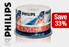 PHILIPS DR4S6H50F/17 50PK 16X DVD+R